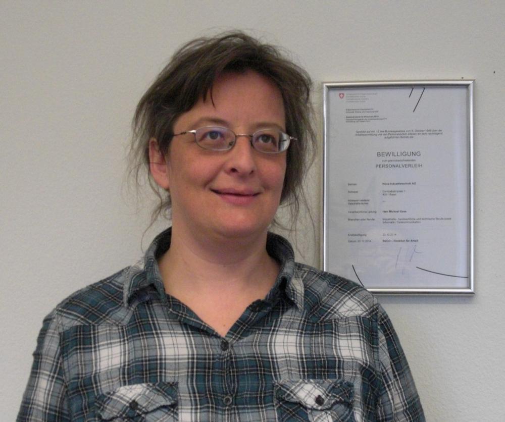 Barbara Seiler, Personaldisponentin der NOVA Industrietechnik AG