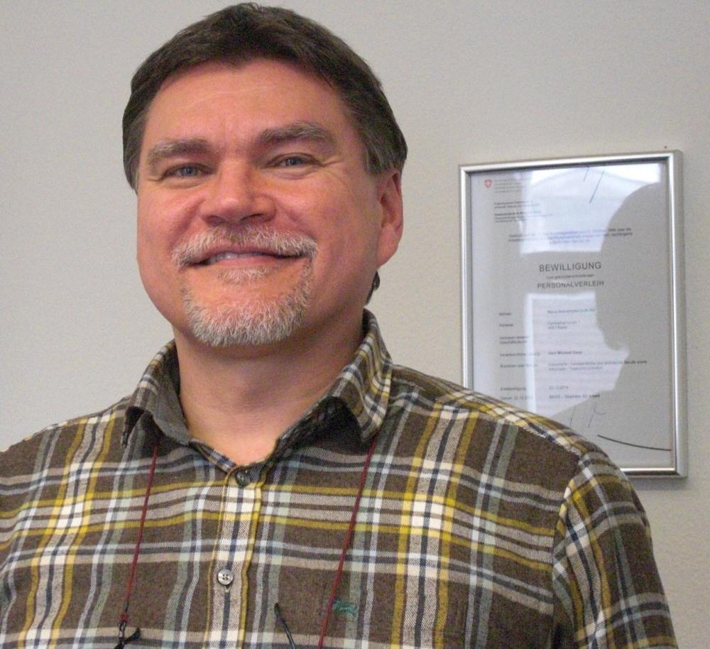 Michael Gass, Geschäftsführer der NOVA Industrietechnik AG